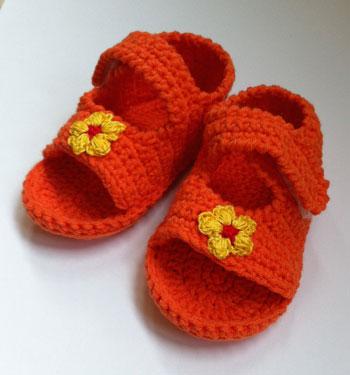 sandales-bebe-crochet