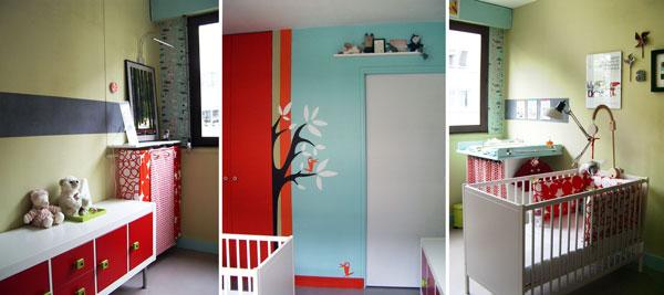 Chambre Blanche Et Turquoise - Maison Design - Bahbe.com