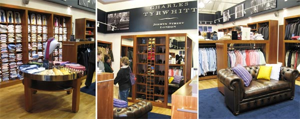 Charles Tyrwhitt Bicester outlet shopping