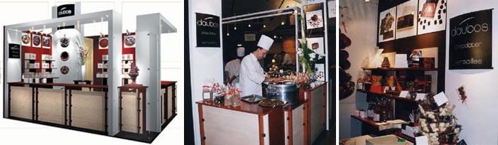 stand Daubos chocolatier