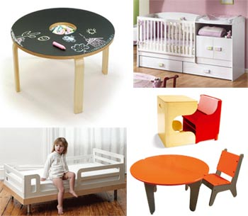 design for kids, mobilier pour enfants partie 2