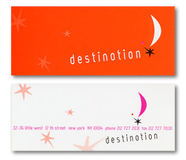 destination carte de visite