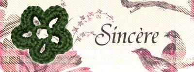 fleur de laine sincère