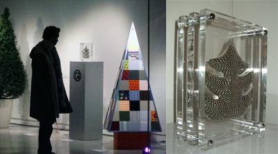Le sapin de Noël des Créateurs 2004: Paco Rabanne