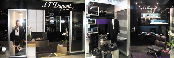 stand ST Dupont