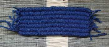 Straw weaver echantillon